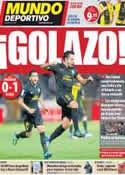 Portada Mundo Deportivo del 26 de Octubre de 2011