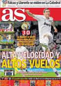 Portada diario AS del 27 de Octubre de 2011