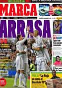 Portada diario Marca del 27 de Octubre de 2011