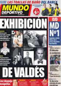 Portada Mundo Deportivo del 27 de Octubre de 2011