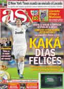 Portada diario AS del 28 de Octubre de 2011