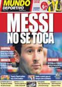 Portada Mundo Deportivo del 28 de Octubre de 2011