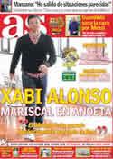 Portada diario AS del 29 de Octubre de 2011