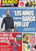Portada Mundo Deportivo del 29 de Octubre de 2011