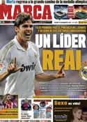 Portada diario Marca del 31 de Octubre de 2011