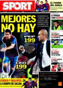 Portada diario Sport del 31 de Octubre de 2011