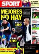 Portada diario Sport del 31 de Octubre de 2011