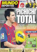 Portada Mundo Deportivo del 31 de Octubre de 2011