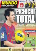Portada Mundo Deportivo del 31 de Octubre de 2011