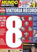 Portada Mundo Deportivo del 1 de Noviembre de 2011