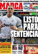 Portada diario Marca del 2 de Noviembre de 2011