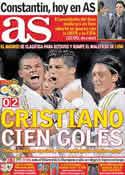 Portada diario AS del 3 de Noviembre de 2011
