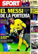 Portada diario Sport del 3 de Noviembre de 2011