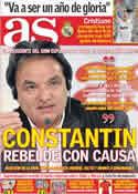 Portada diario AS del 4 de Noviembre de 2011