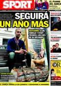 Portada diario Sport del 4 de Noviembre de 2011