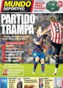 Portada Mundo Deportivo del 5 de Noviembre de 2011