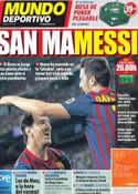 Portada Mundo Deportivo del 6 de Noviembre de 2011