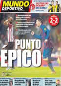 Portada Mundo Deportivo del 7 de Noviembre de 2011