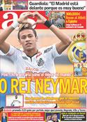 Portada diario AS del 9 de Noviembre de 2011