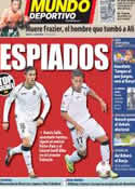 Portada Mundo Deportivo del 9 de Noviembre de 2011