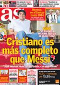 Portada diario AS del 10 de Noviembre de 2011