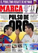 Portada diario Marca del 10 de Noviembre de 2011
