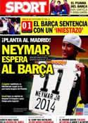 Portada diario Sport del 10 de Noviembre de 2011
