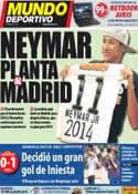 Portada Mundo Deportivo del 10 de Noviembre de 2011