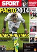 Portada diario Sport del 11 de Noviembre de 2011