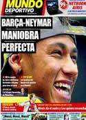Portada Mundo Deportivo del 11 de Noviembre de 2011