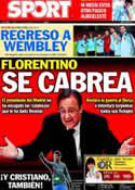 Portada diario Sport del 12 de Noviembre de 2011