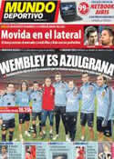 Portada Mundo Deportivo del 12 de Noviembre de 2011