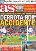 Portada diario AS del 13 de Noviembre de 2011