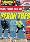 Portada Mundo Deportivo del 13 de Noviembre de 2011