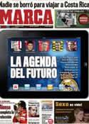 Portada diario Marca del 14 de Noviembre de 2011