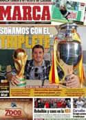 Portada diario Marca del 15 de Noviembre de 2011