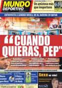 Portada Mundo Deportivo del 15 de Noviembre de 2011