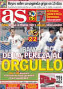 Portada diario AS del 16 de Noviembre de 2011