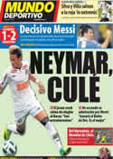 Portada Mundo Deportivo del 16 de Noviembre de 2011