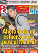 Portada diario AS del 17 de Noviembre de 2011
