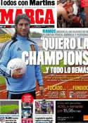 Portada diario Marca del 17 de Noviembre de 2011