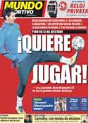 Portada Mundo Deportivo del 17 de Noviembre de 2011