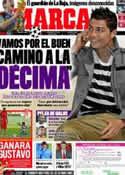 Portada diario Marca del 18 de Noviembre de 2011