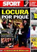 Portada diario Sport del 18 de Noviembre de 2011