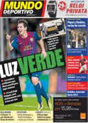 Portada Mundo Deportivo del 18 de Noviembre de 2011