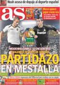 Portada diario AS del 19 de Noviembre de 2011