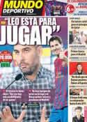 Portada Mundo Deportivo del 19 de Noviembre de 2011