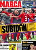 Portada diario Marca del 21 de Noviembre de 2011
