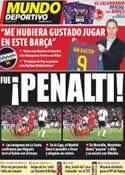 Portada Mundo Deportivo del 21 de Noviembre de 2011