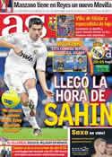 Portada diario AS del 22 de Noviembre de 2011